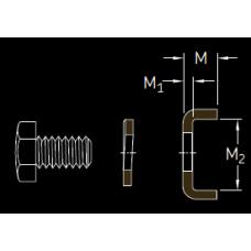 Основные размеры подшипника MS 3080-76