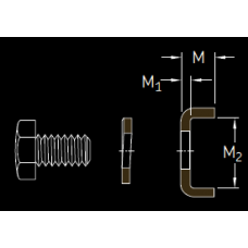 Основные размеры подшипника MS 3176